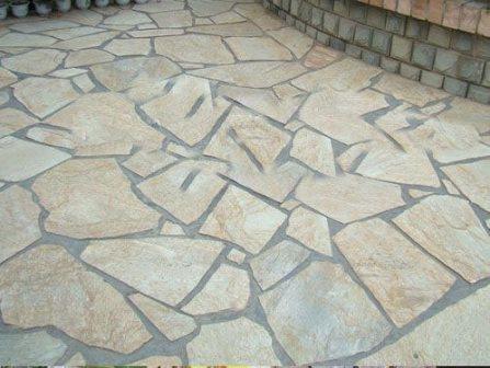 Aplica o de pavimento em pedra em exteriores vintage obras - Pavimentos para exterior ...