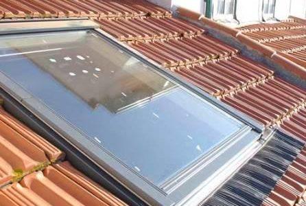 Infiltrações em telhados – Telha Marselha e impermeabilização de janela.