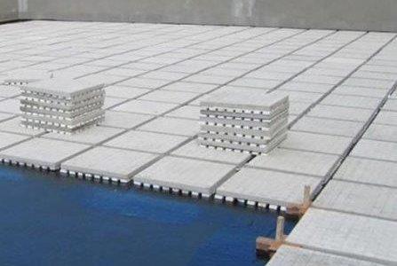 Infiltrações em terraços – Lajeta de betão com isolamento térmico.