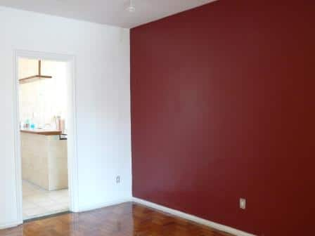 Pintura de interiores sala com paredes pintadas em - Fotos paredes pintadas ...