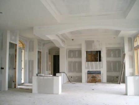 Remodela es com aplica o em pladur teto falso e parede vintage obras - Casas de pladur ...