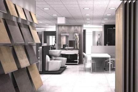 Remodelação de loja de material de construção.