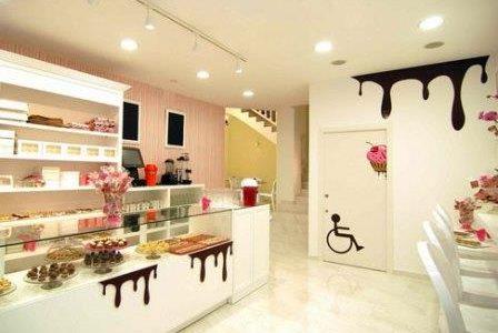 Remodelação de loja de doces.
