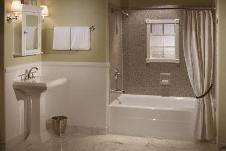 Remodelação de casa de banho tradicional.