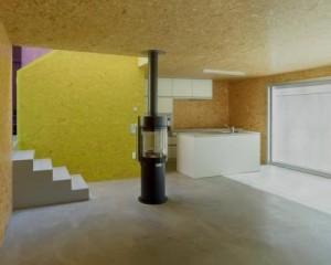 Casa com madeira OSB