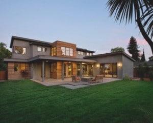 Construções de moradia de luxo