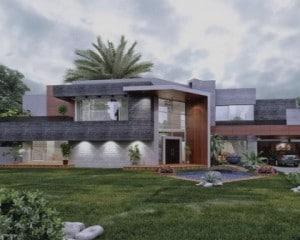 Construções de moradias de luxo