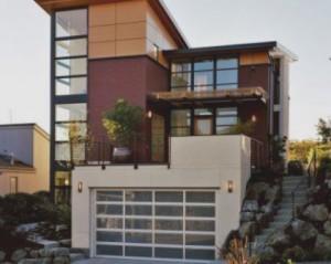 Construções de moradias modernas