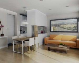 Decoração de casas e apartamentos
