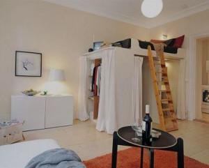 Decoração de interiores de casas quarto
