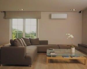 Ar condicionado sala de estar