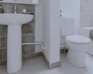 Canalização de casa de banho