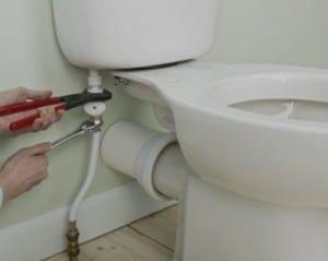 Canalização sanita casa de banho
