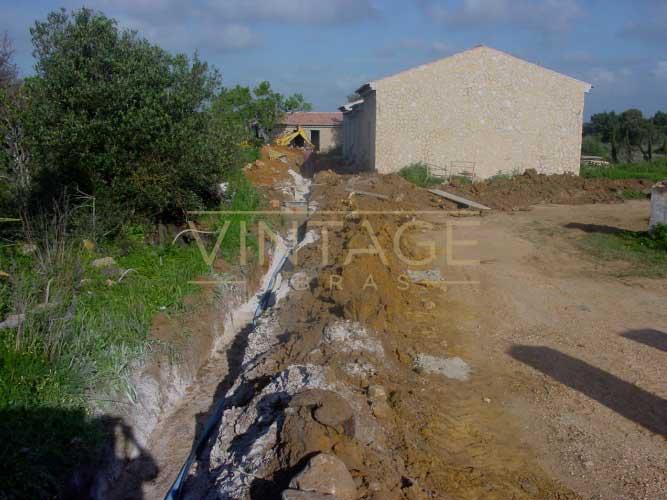 Construção de vivenda: rede de abastecimento de água