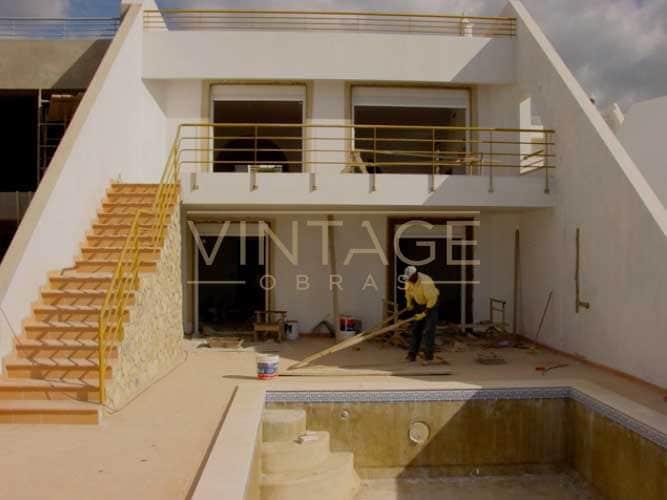 Construção de vivendas: Pinturas