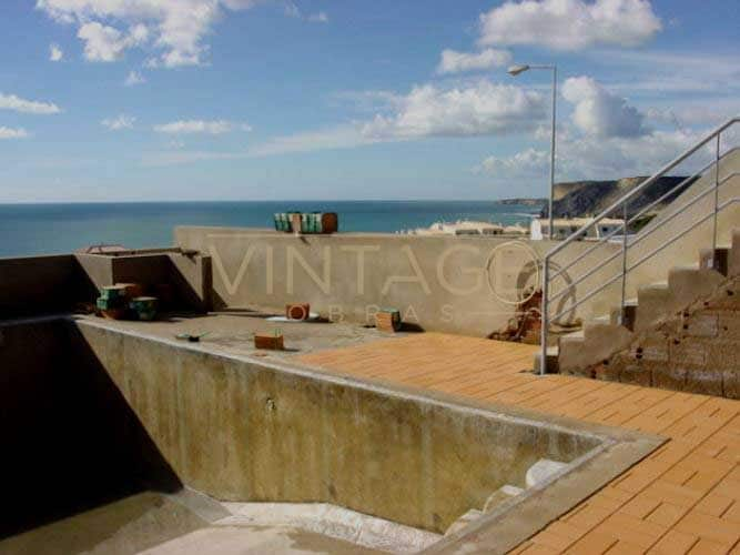 Construção de vivendas: Construção de Piscina