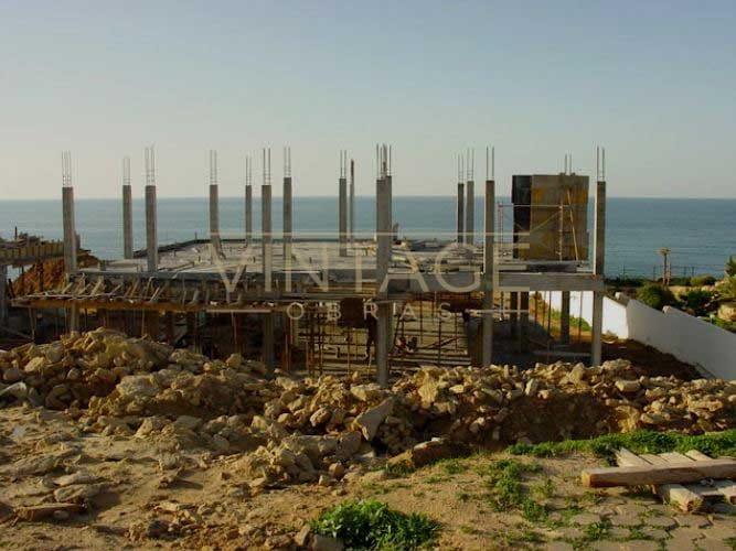 Construção de vivenda: Estrutura