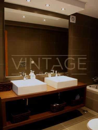Lavatório remodelação de casa de banho moderna