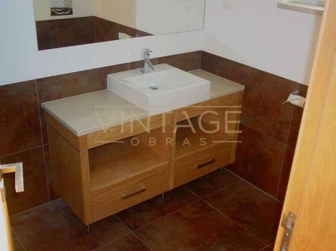 Remodelações de casas de banho: Móvel de lavatório