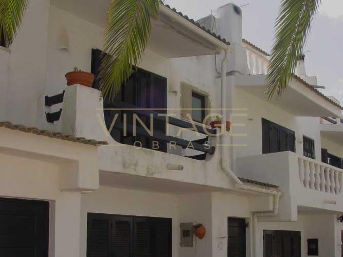 Pintura de fachada pr dio vintage obras - Pintura para fachada ...