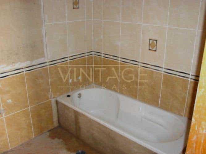 Remodelação de casa de banho banheira