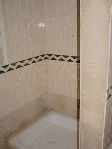 Remodelação de casa de banho base: Zona de duche