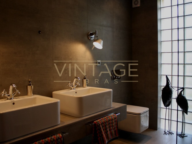 Remodela o de casa de banho em lisboa vintage obras for Casa moderna vintage
