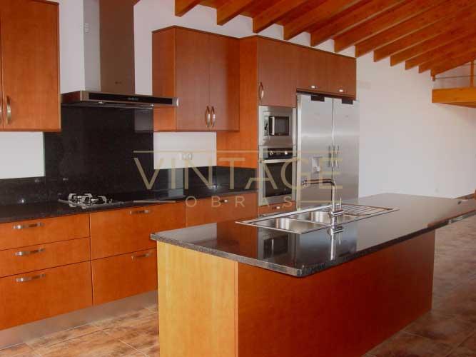 Construção de moradia: cozinha