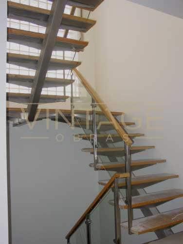 Remodelação de interior escada
