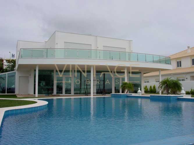 Construção de moradia: Construção de piscina
