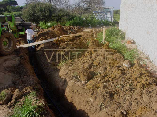 Construção de moradia: execução de fundações