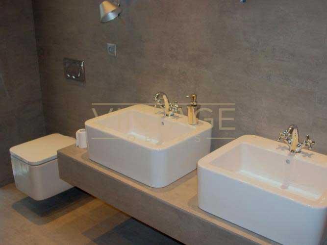 Remodelação de Casa de Banho - Lavatórios e sanita suspensa.