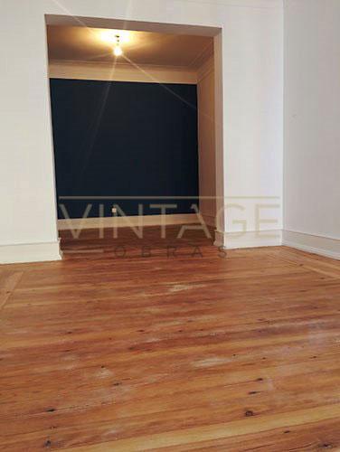 Sala em remodelação